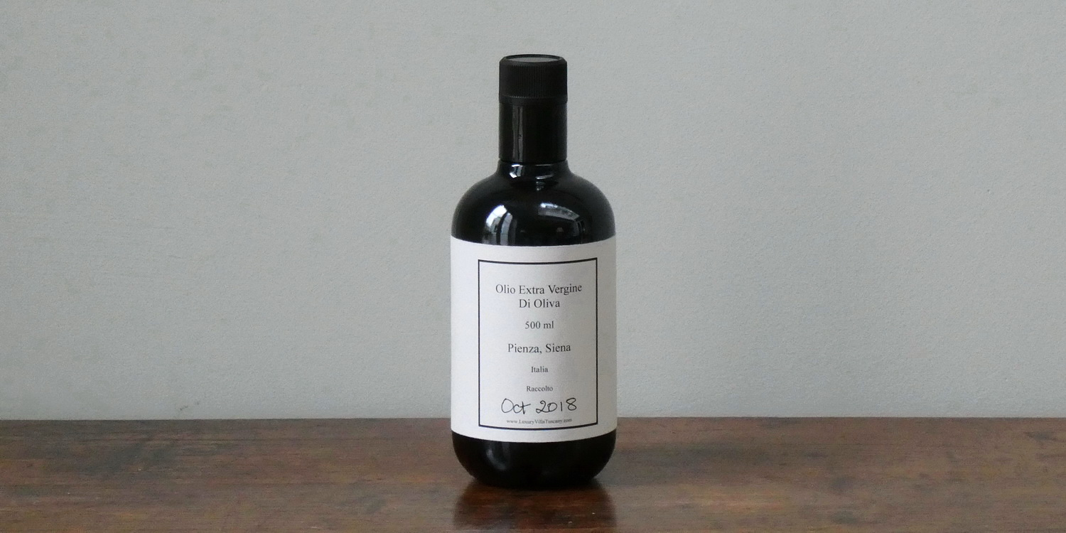 Extra-Virgin Cold-Pressed Tuscan Olive Oil 0